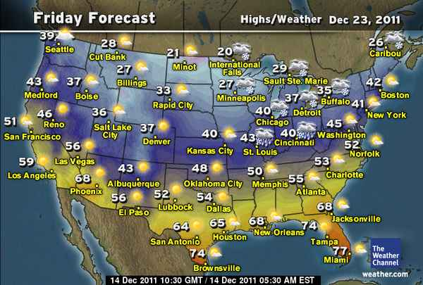 Us Weather Map Forecast My Blog - Us map forecast